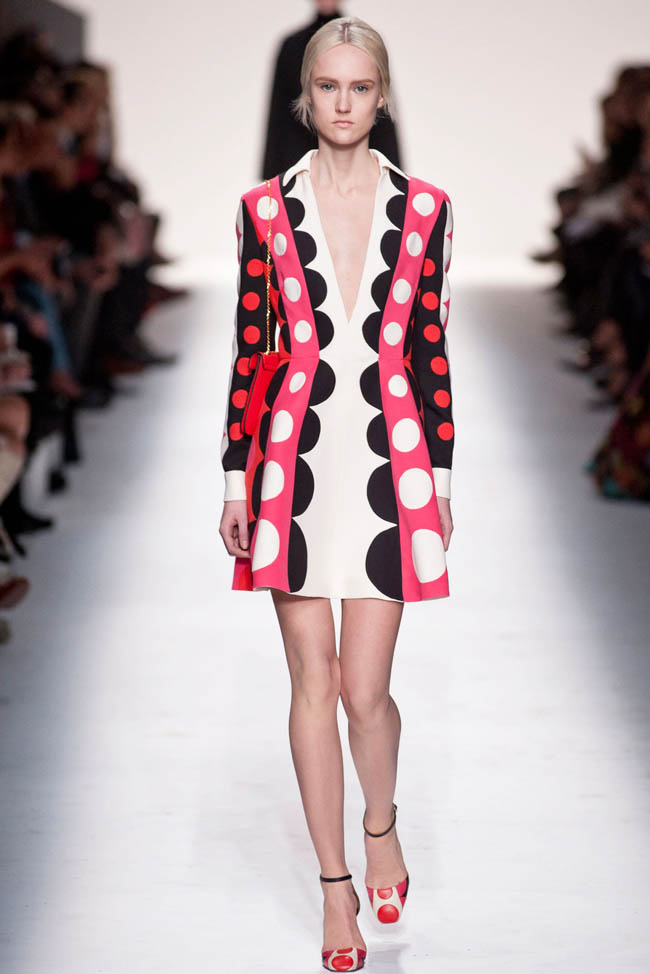 PARIS FASHION WEEK: VALENTINO WENT FROM POP ART TO THE ...