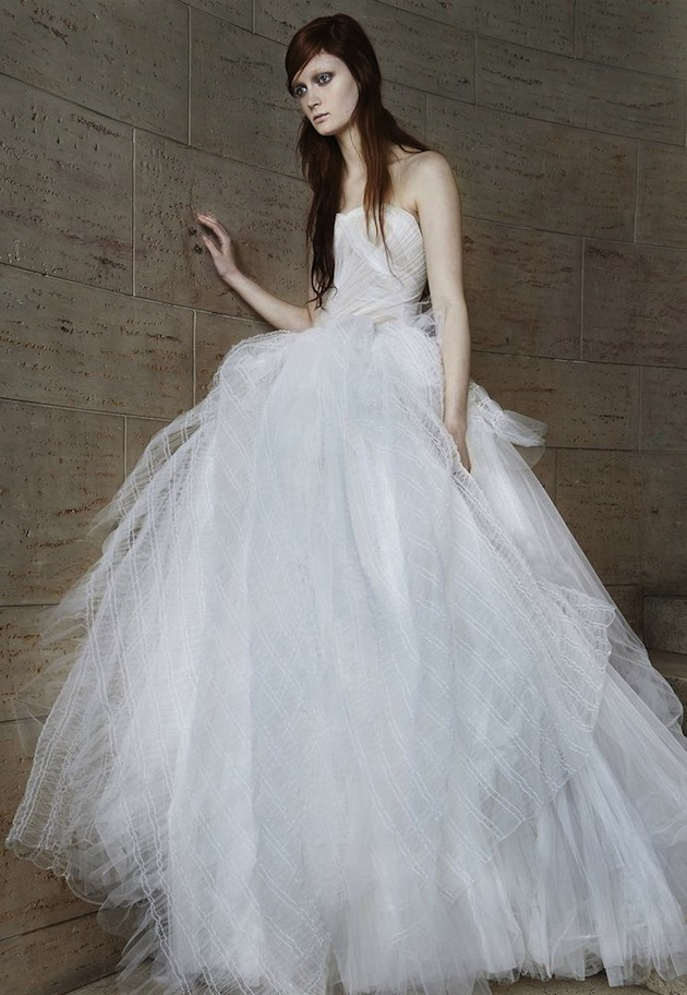 VERA WANG GOES EDGY WITH S/S 2015 BRIDAL COLLECTION! » Hydrogen Mag