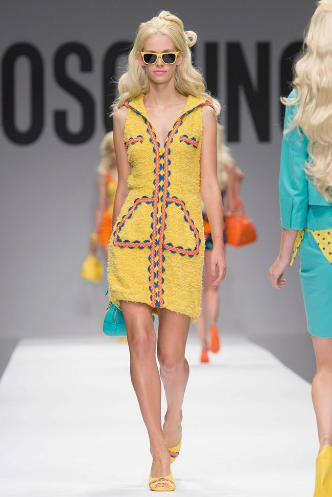 Milan Fashion Week Moschino Celebrates Barbie With Spring Summer 2015 Collection 187 Hydrogen Mag