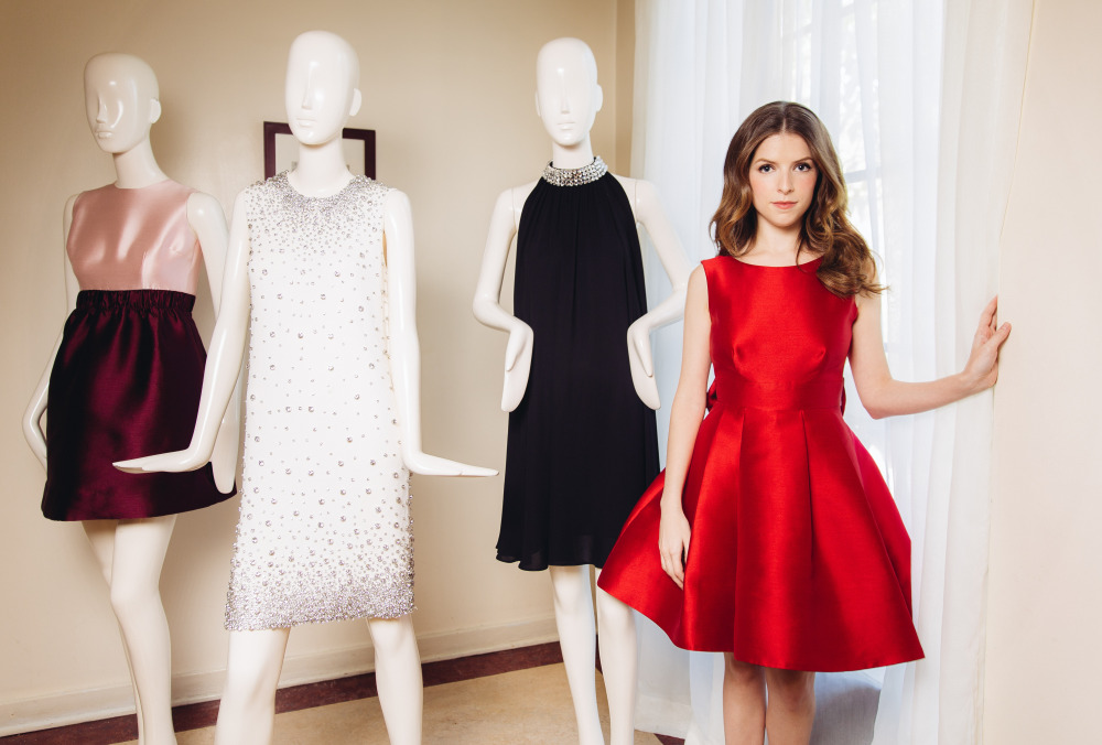 Anna Kendrick For Kate Spade 2017 Holiday Collection Img