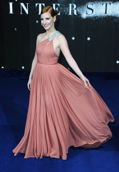 234e78406524 STYLE FILE: BEST JESSICA CHASTAIN 2014 RED CARPET LOOKS! » Hydrogen Mag